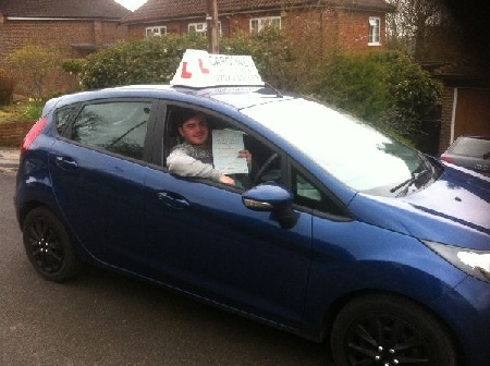 driving lesson with a lady instructor in surrey and addlestone and walton